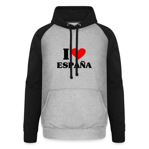 I love Espana - Unisex Baseball Hoodie