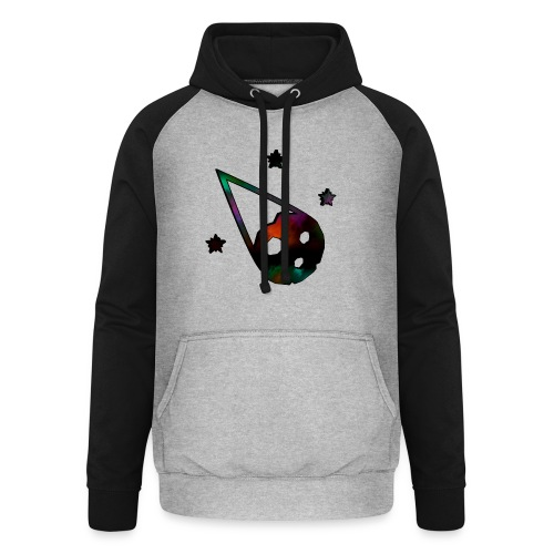 logo interestelar - Sudadera con capucha de béisbol unisex