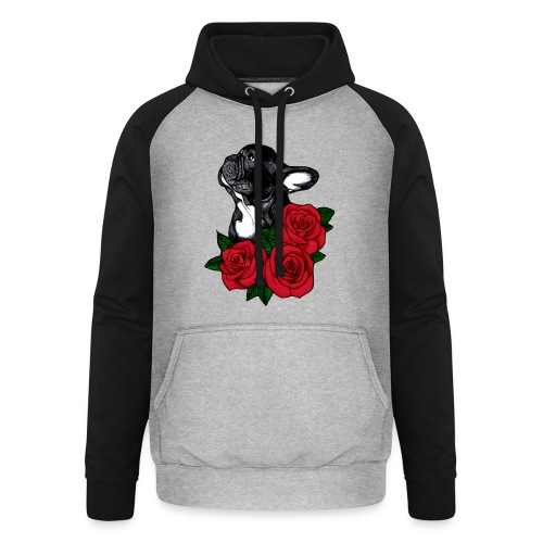 The French Bulldog Is So Famous - Unisex Baseball Hoodie