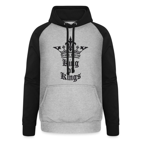 king_of_kings - Unisex Baseball Hoodie