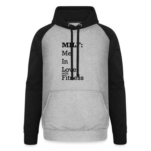 MILF - Unisex baseball hoodie