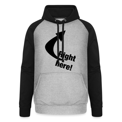Where is your GOD now? - Unisex Baseball Hoodie