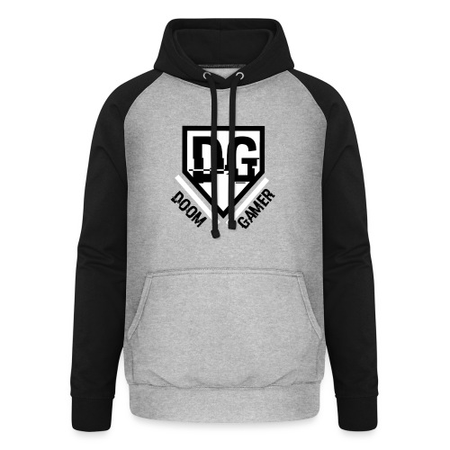 doom trui - Unisex baseball hoodie