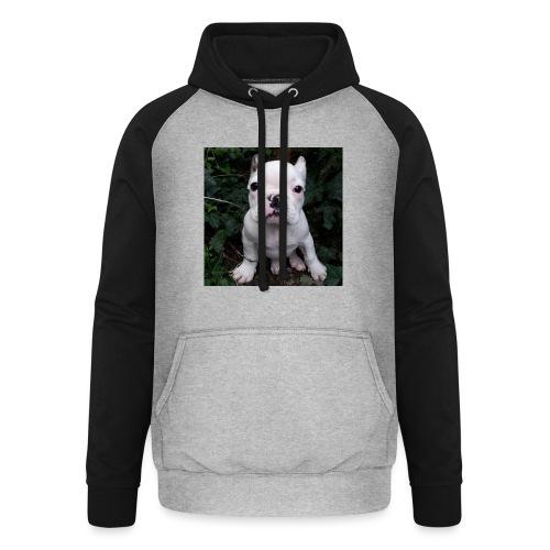 Billy Puppy 2 - Unisex baseball hoodie