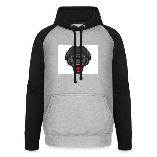 gorilla - Unisex baseball hoodie