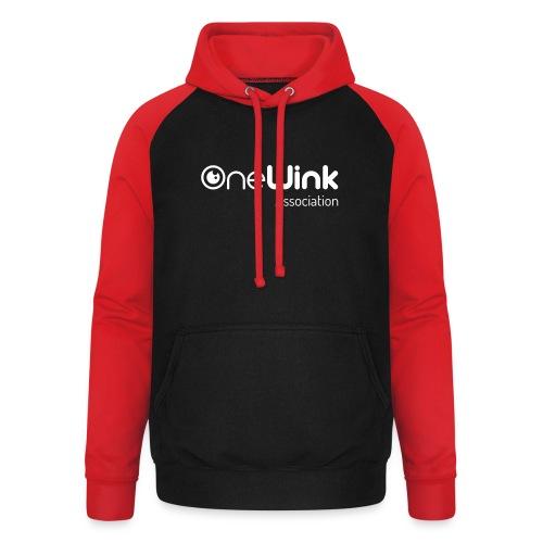 OneWink Association - Sweat-shirt baseball unisexe