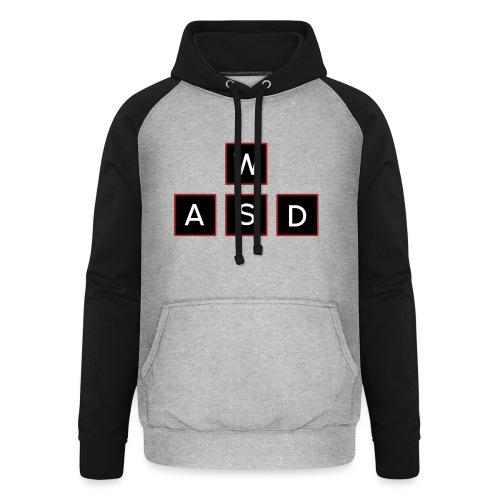 aswd design - Unisex baseball hoodie