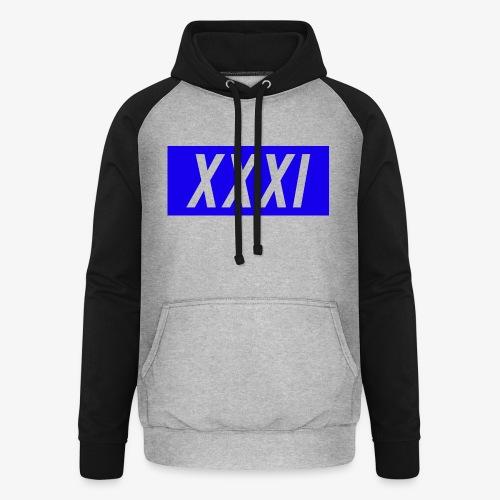 XXXI Design - Unisex Baseball Hoodie