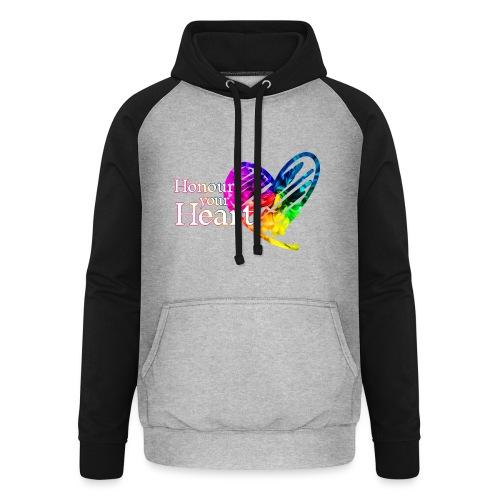 Honour Your Heart 2021 - Unisex Baseball Hoodie