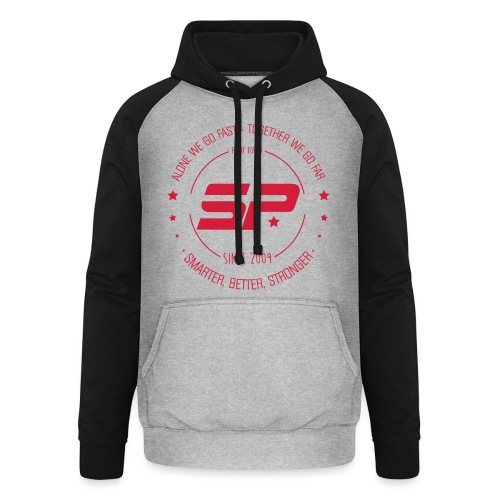 DCSTYLE - Sweat-shirt baseball unisexe