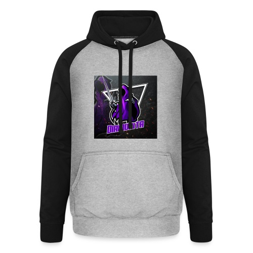 Diamonita ghost - Unisex baseball hoodie