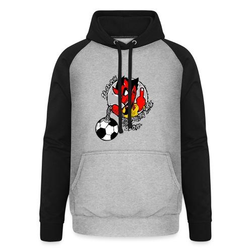 ontwerp_vrijgezellen3 - Unisex baseball hoodie