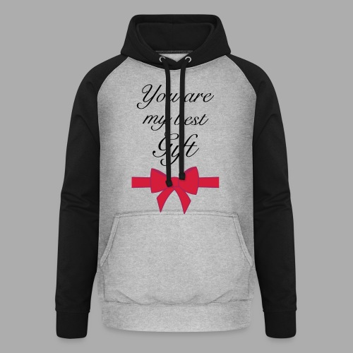 you are my best gift - Unisex Baseball Hoodie