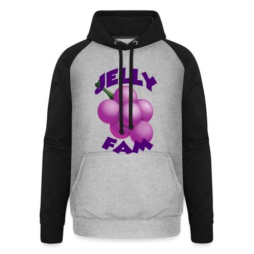 JellySquad - Unisex baseball hoodie