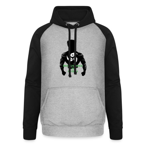 Raijin Become_A_God - Unisex Baseball Hoodie