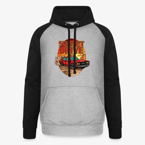 Sunset Drive - Sweat-shirt baseball unisexe
