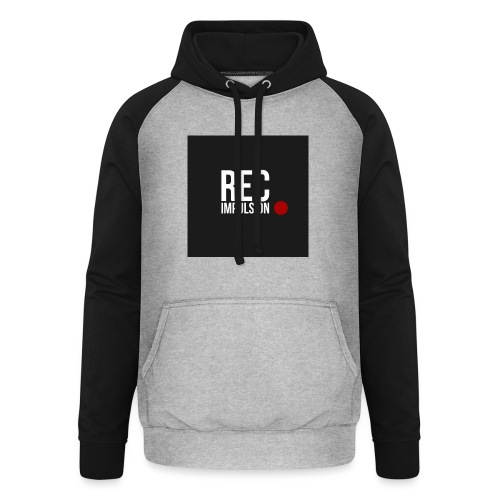REC - Sweat-shirt baseball unisexe