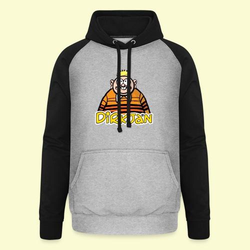 DIRKJAN Half - Unisex baseball hoodie