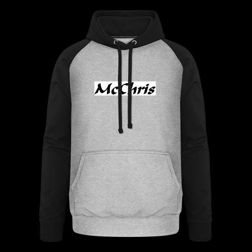 MCCHRIS - Unisex Baseball Hoodie