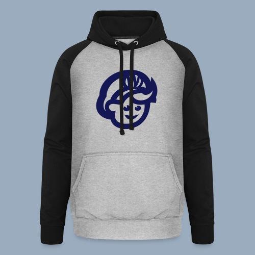 logo bb spreadshirt bb kopfonly - Unisex Baseball Hoodie