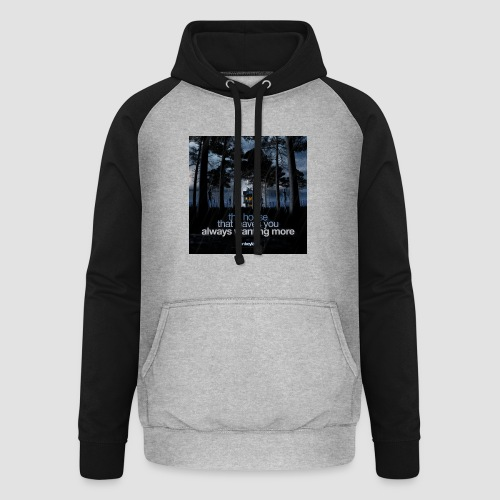 The House - Unisex Baseball Hoodie