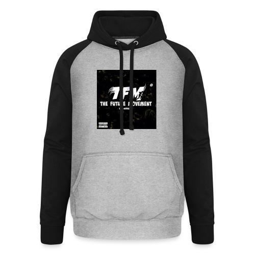 The Future Movement (black) - Unisex baseball hoodie