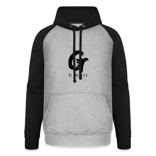 De Greggies - Shirt wit - Unisex baseball hoodie