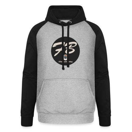 TSHIRT-INSTATUBER-METLOGO - Unisex baseball hoodie