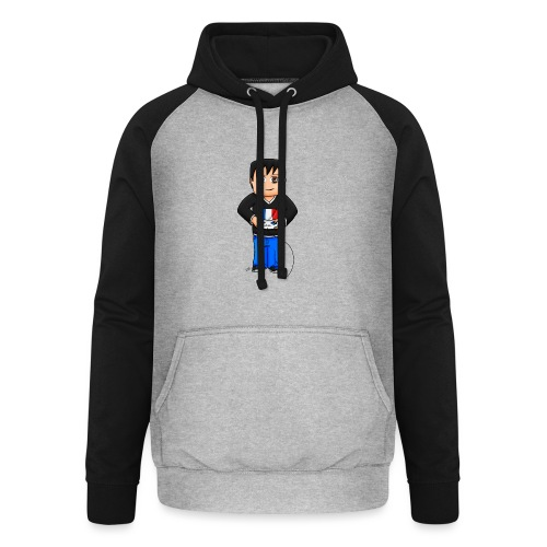 MaximeGaming - Sweat-shirt baseball unisexe