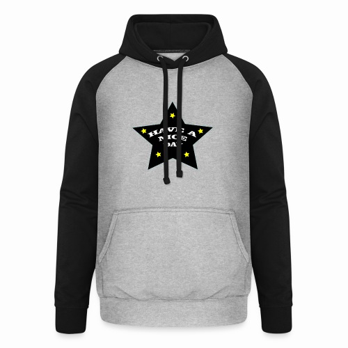 Have a nice Day stern - Unisex Baseball Hoodie