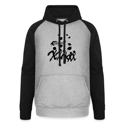 BEGRADUATED - Unisex baseball hoodie