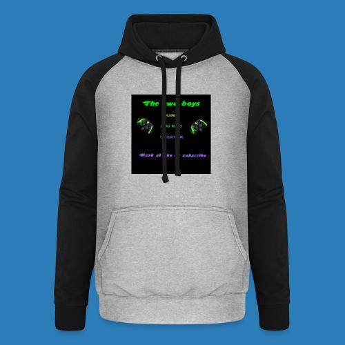 LUISJAKUBINTRO-jpg - Unisex baseball hoodie