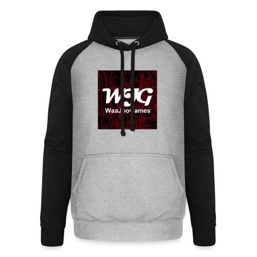 T-shirt WJG logo - Unisex baseball hoodie