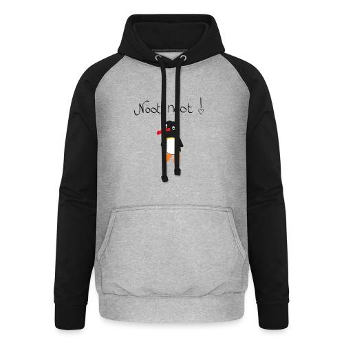 NOOT NOOT x3 - Unisex baseball hoodie