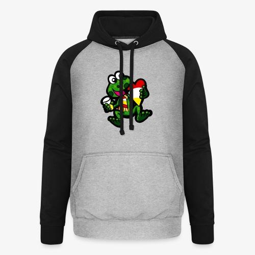 Oeteldonk Kikker - Unisex baseball hoodie