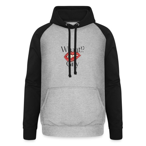 GIRLY WHAAT? - Sweat-shirt baseball unisexe