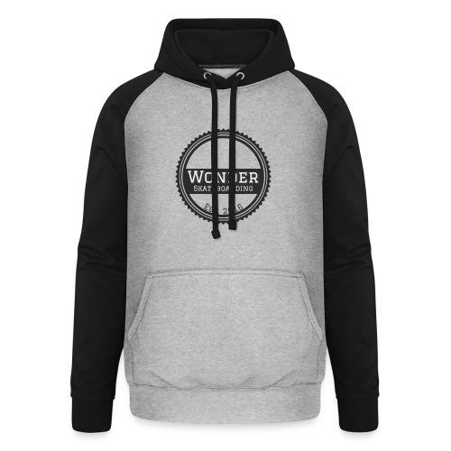 Wonder unisex-shirt round logo - Unisex baseball hoodie