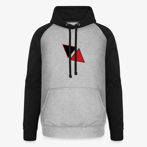 Tobach RED - BLACK - Sweat-shirt baseball unisexe