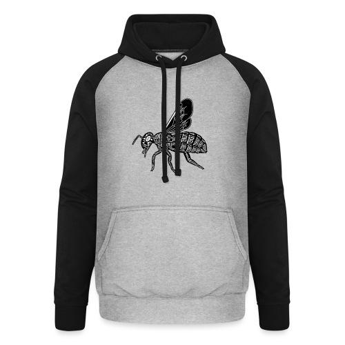 Skelett Biene - Unisex baseball hoodie