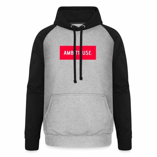 AMBITIEUSE - Sweat-shirt baseball unisexe