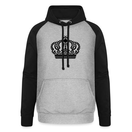kroon keep calm - Unisex baseball hoodie