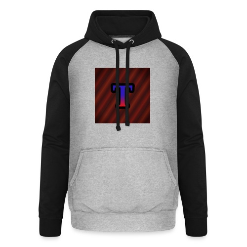 Logo - Unisex baseball hoodie