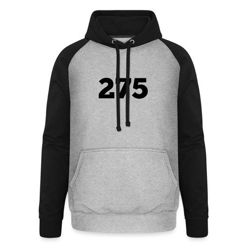275 - Unisex Baseball Hoodie