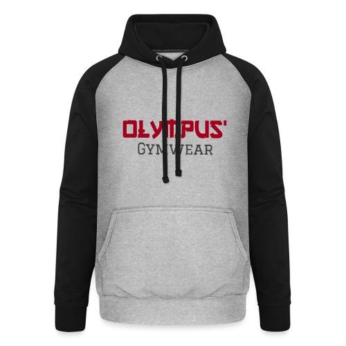 Olympus' gymwear - Unisex Baseball Hoodie