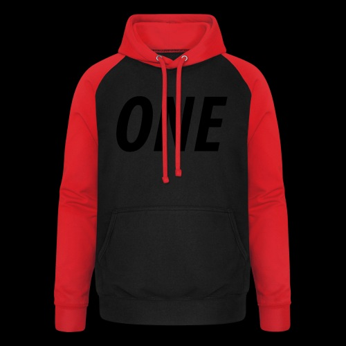 WEAREONE x LETTERS - Unisex baseball hoodie
