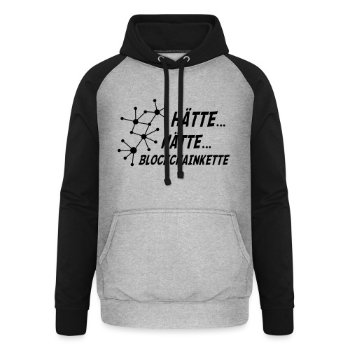 Blockchainkette - Unisex Baseball Hoodie
