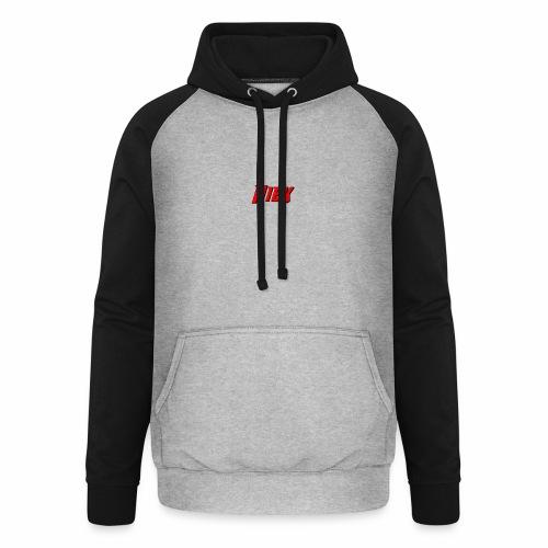 Niek Red - Unisex baseball hoodie