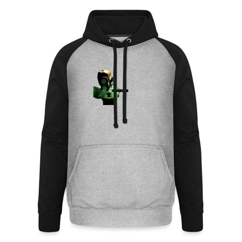 think green get lean - Unisex Baseball Hoodie