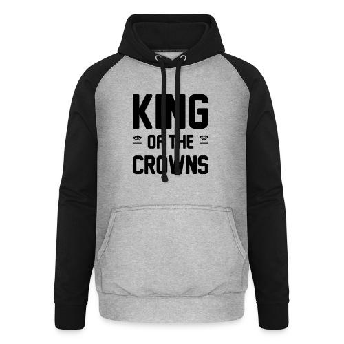 King of the crowns - Unisex baseball hoodie