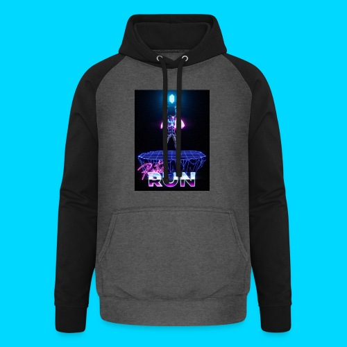 Retro Run merch #2 - Unisex Baseball Hoodie